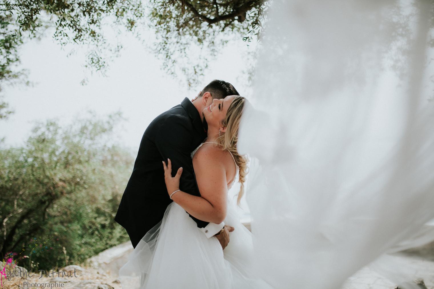L'histoire du mariage de Jessica & Kévin